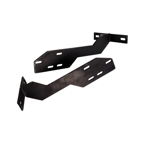 Brackets,Type 1, 68-73, to Early Bumper, Rear, Pair