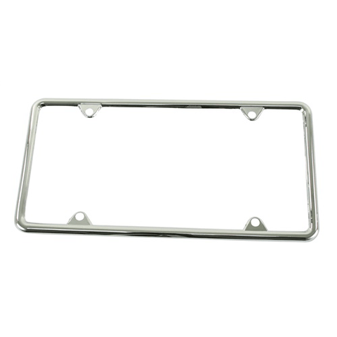 License Plate Frame, Chrome, Each