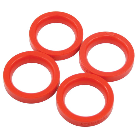 Urethane Axle Beam Tube Seals, Type 1 w/ King & Link Pin, 4 pcs., All the Same