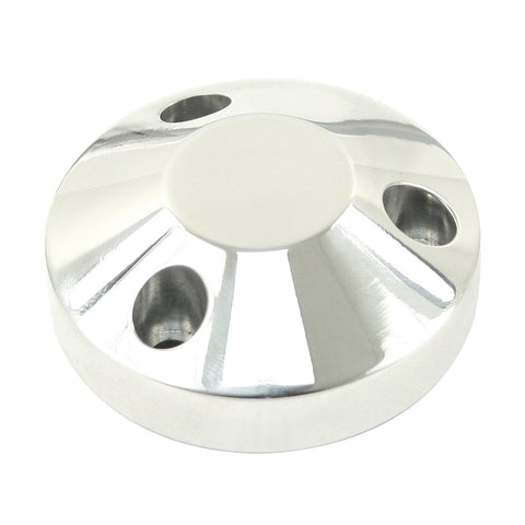 Billet Aluminum Hub Cover, All Wheels