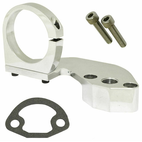 EMPI Billet Combo Fuel Pump Block-Off/Coil Mount