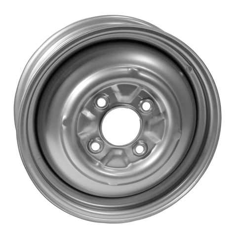 "4 Lug Rim Silver Smoothie 4/130 5.5"" Wide - AA Performance Products"