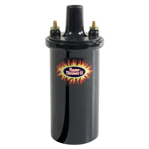 Pertronix Flame-Thrower Black 1.5 ohm Coil,  (use w/ Ignitor II Electronic Ignition) (includes 4 and 6 cyl Porsche)