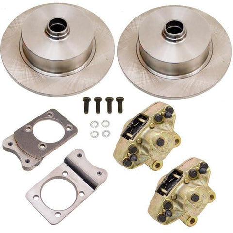 Disc Brake Kit, Front, Fits Stock Drum Spindles, Blank (Blank Pattern)