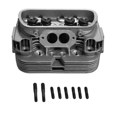 Cylinder Head 44 x 37.5 Type 1 Dual High-Rev, Stage 4 Port & Polish - AA Performance Products  - 1