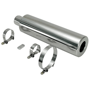 Racing Muffler Only, w/Mounting Clamps