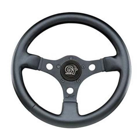 "Formula GT, Black,3-Spoke, 12"" Dia., 3"" Dish / 3 ¾"""