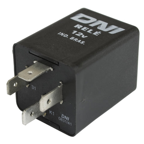 Turn Signal Flasher Relay, 12-Volt, 4-Prong, Type 1 68-70, Fits Type 1 68-70, Ghia 68-70, Type 3 68-70, Type 2 68-70, and Thing 73-74