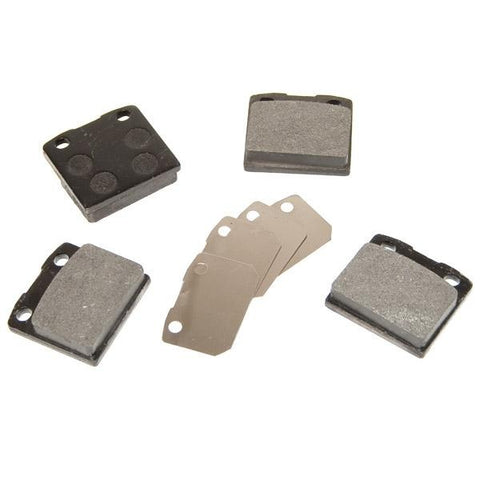 Caliper Pads, 2-pin Ghia style calipers, Front - AA Performance Products