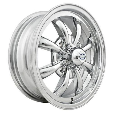 "Empi 9683 GT-8 Spoke All Chrome 5.5x15"" - AA Performance Products"