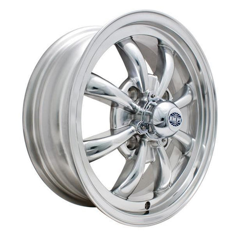 "Empi 9684 GT-8 Spoke Polished 5.5x15"" - AA Performance Products"