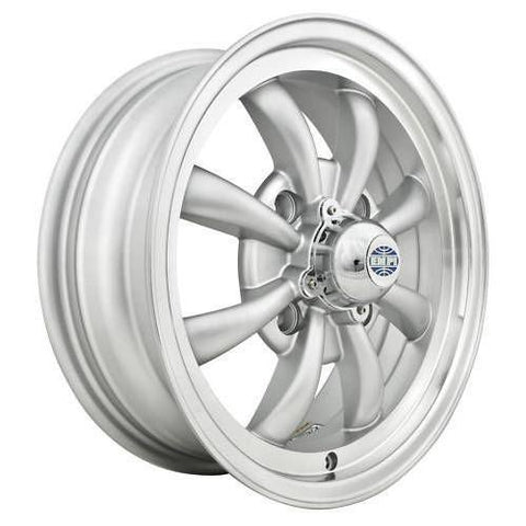 "Empi 9685 GT-8 Spoke Sliver w/ Polished Lip 5.5x15"" - AA Performance Products"