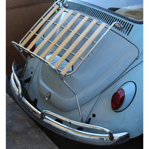 "VW Type 1 Deck Lid Rack ""Stainless Steel"""