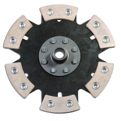 6 Puck Metallic Clutch Disc 228mm