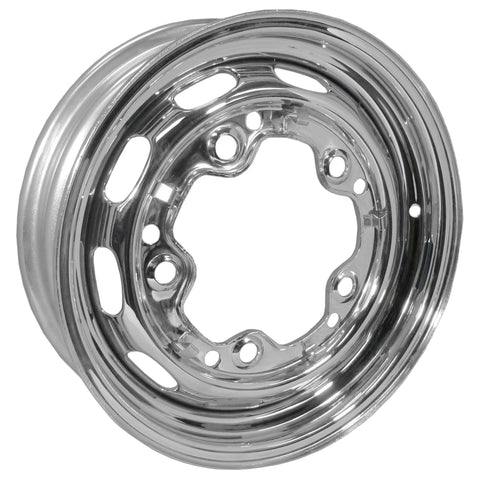 "5 Lug Rim Chrome with Slots 5/205 5.5"" Wide - AA Performance Products"