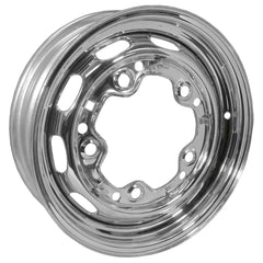 "5 Lug Rim Chrome with Slots  5/205 4.5"" Wide"