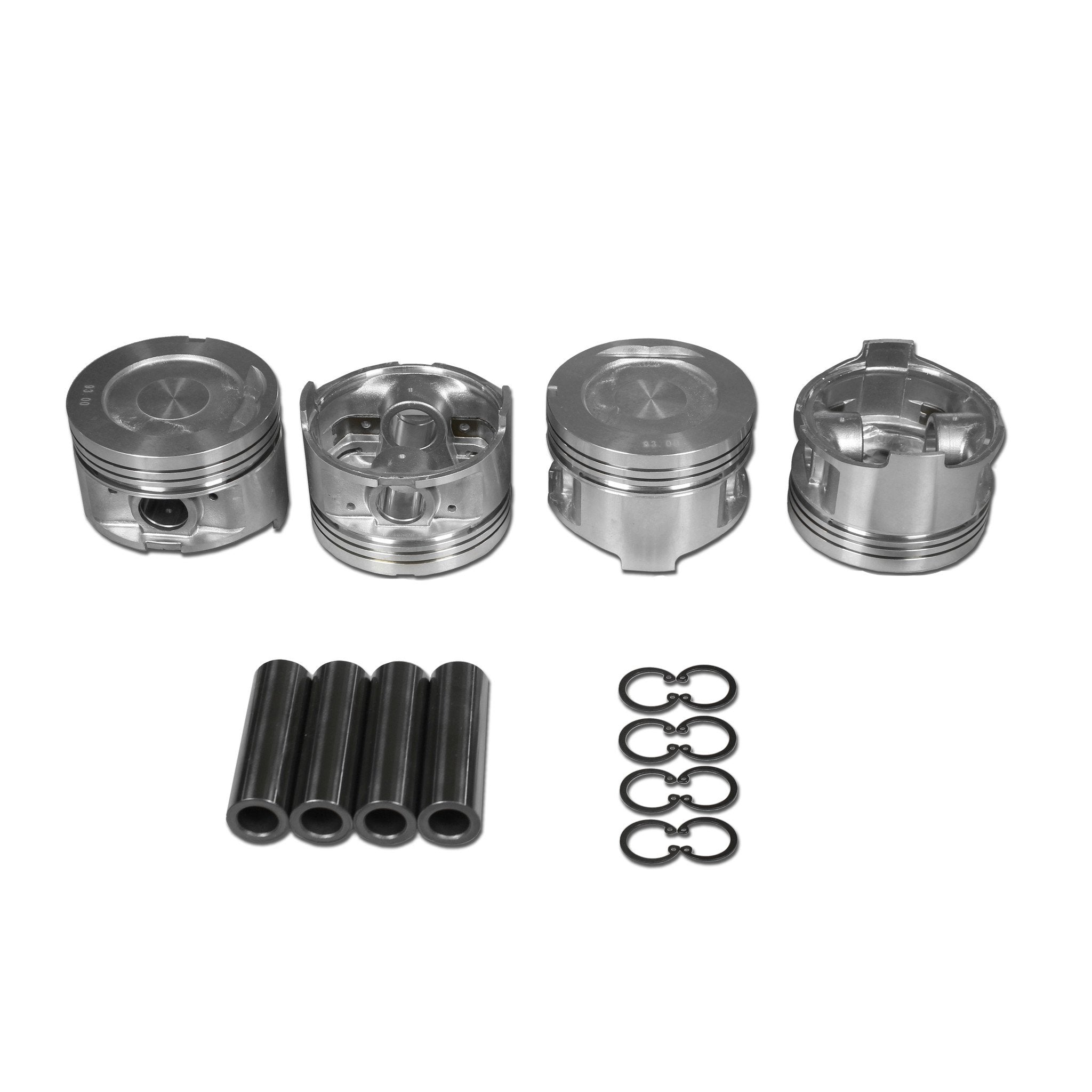 Toyota 22RE Hypereutectic Piston Set | AA Performance Products
