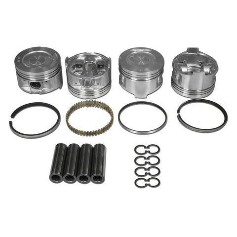 Toyota 22R/22RE Hypereutectic Piston Sets With AA-Ring Set - AA Performance Products