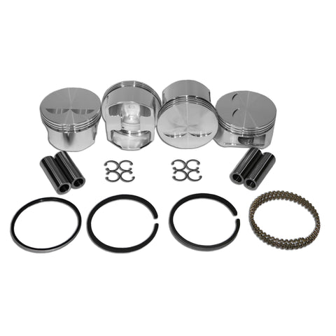 104mm JE Forged Piston Set 22mm Pin Stroker - AA Performance Products