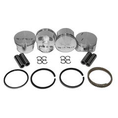 104mm JE Forged Piston Set 22mm Pin Stroker