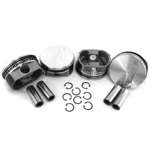 104x71mm Flat top Piston Set - AA Performance Products