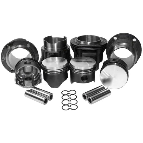 "90mm 1.7 VW Type 4 Bus/ Porsche 914 Piston & Cylinders Kit ""Flat Top"""