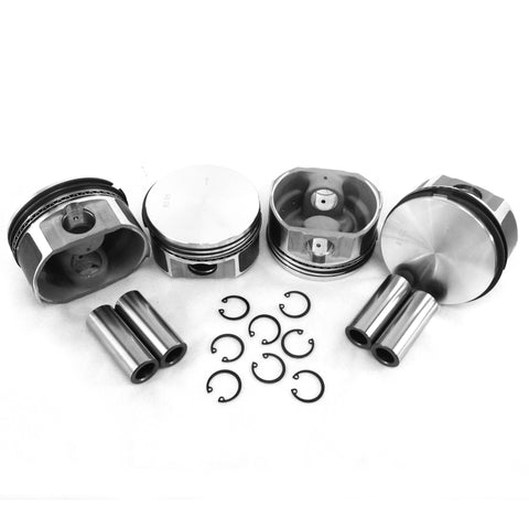 90x66mm Flat Top Piston Set - AA Performance Products