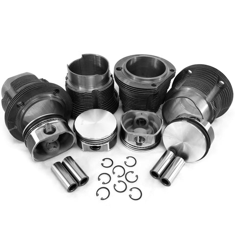 94mm Porsche 914/ VW Type 4 Flat Top European  Style Piston & Cylinder Kit - AA Performance Products