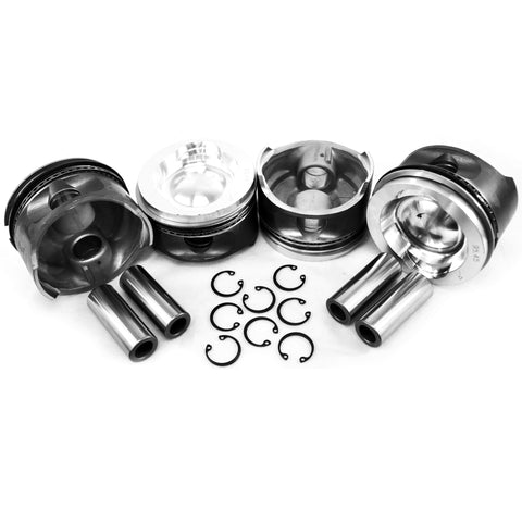 VW 95.5mm WaterBoxer 2.1 Big Bore Piston Set - AA Performance Products