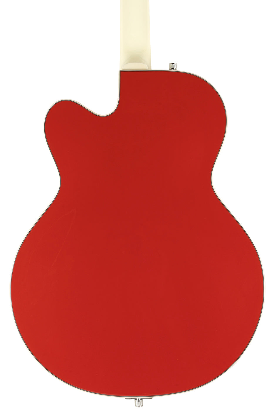 Used 2021 Gretsch G5410T Tri-Five Limited Two-Tone Fiesta Red & Vintage White image 4