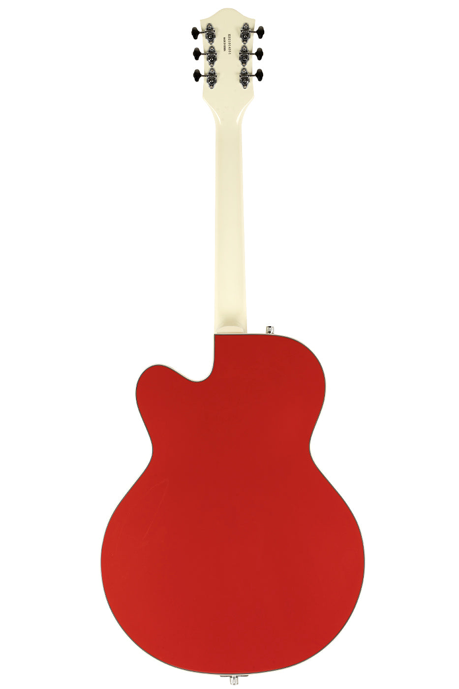 Used 2021 Gretsch G5410T Tri-Five Limited Two-Tone Fiesta Red & Vintage White image 8