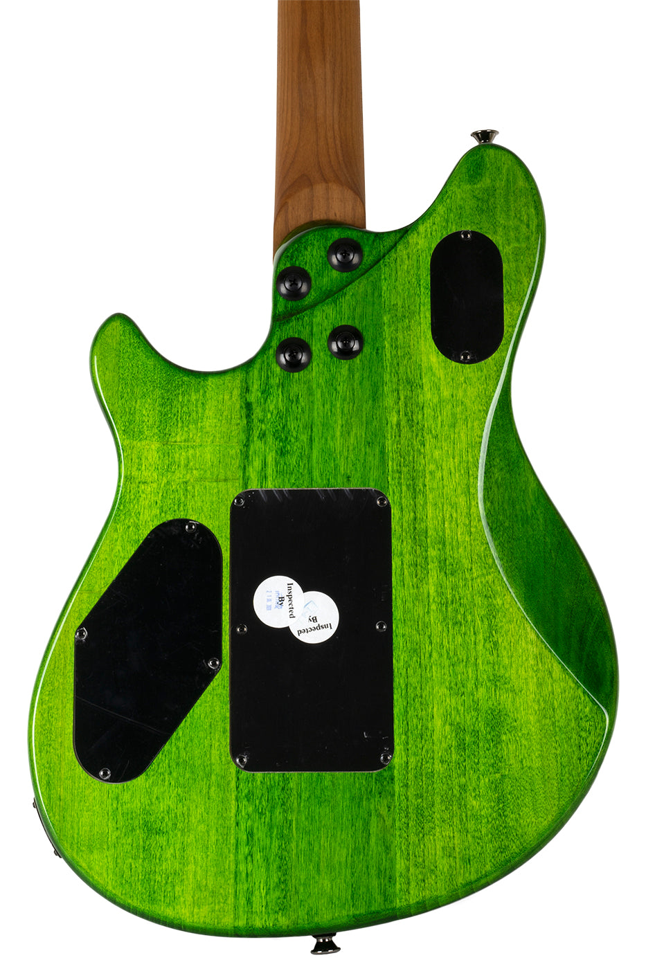 New EVH Wolfgang Standard Quilted Maple Transparent Green (PDX) image 4
