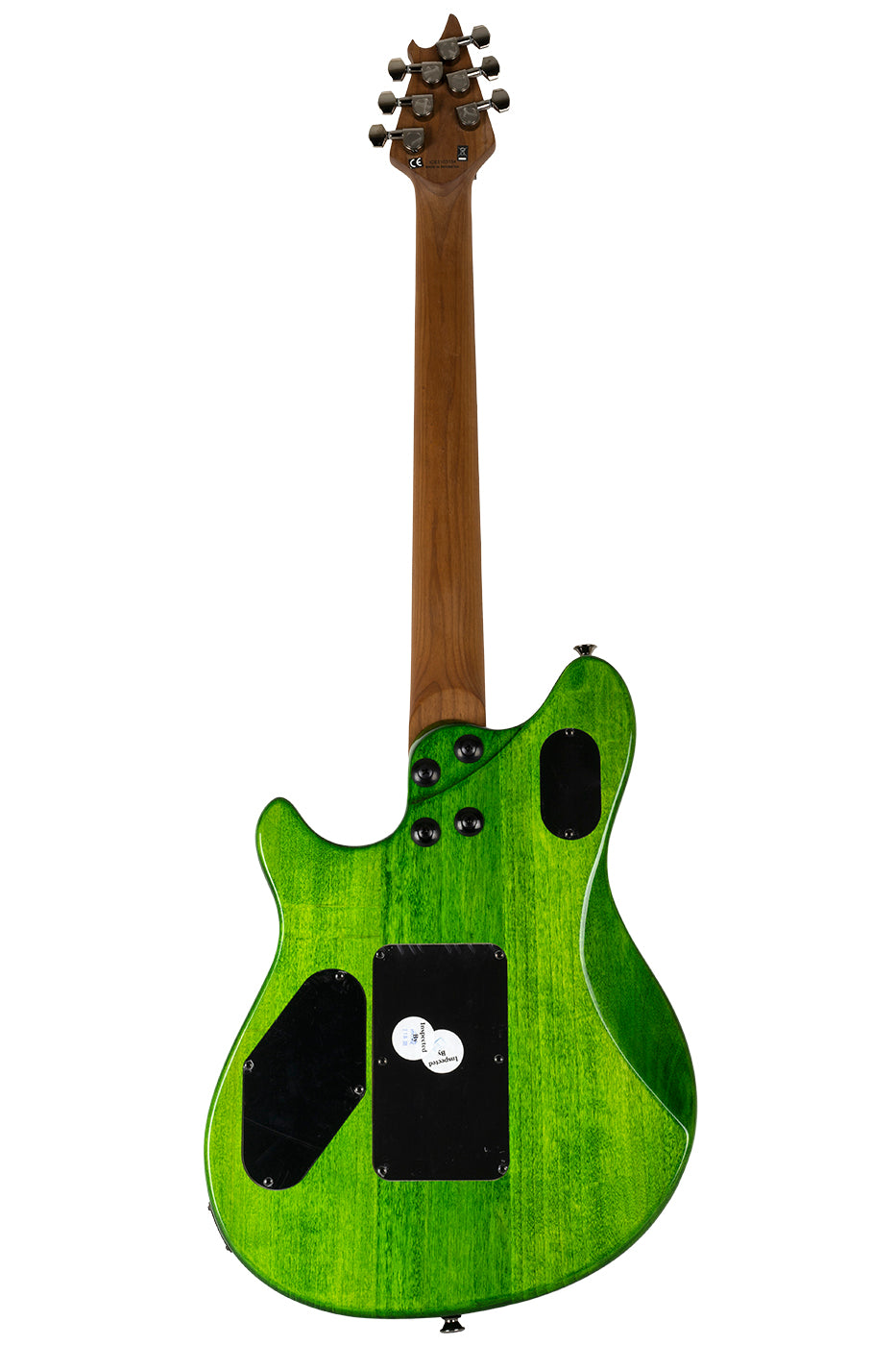 New EVH Wolfgang Standard Quilted Maple Transparent Green (PDX) image 8