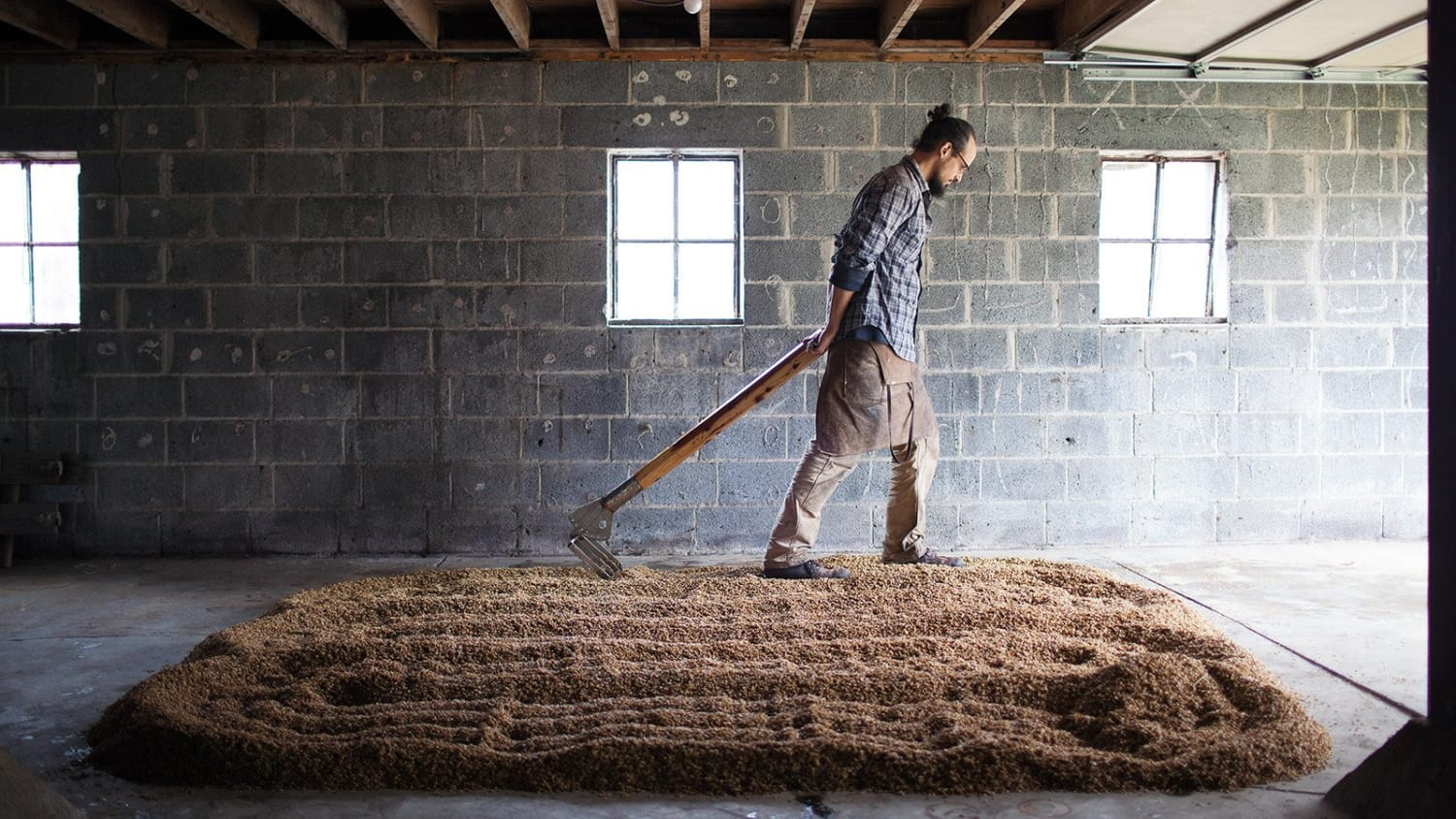 Turning the Malt at Coppersea