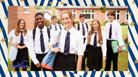 Uniforms can contribute to fast fashion. Try and buy second hand but don't worry if you can't.