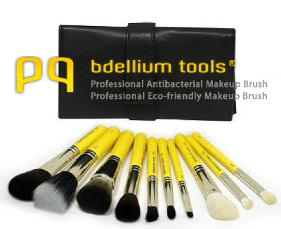 Bdellium Brushes - NEW at Backstage Cosmetics!
