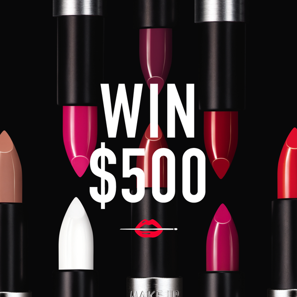 WIN $500 in MAKE UP FOR EVER Products!