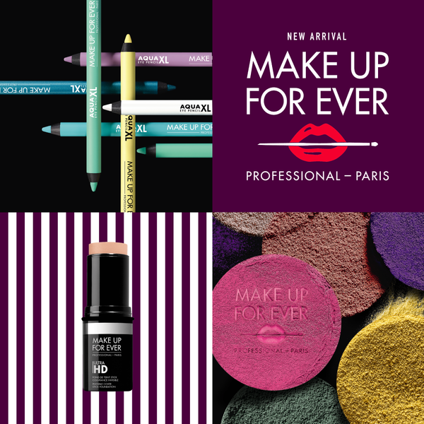 New Arrival: MAKE UP FOR EVER