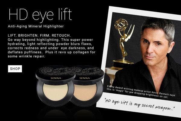 Kevin James Bennett on Senna Cosmetics HD Eye Lift