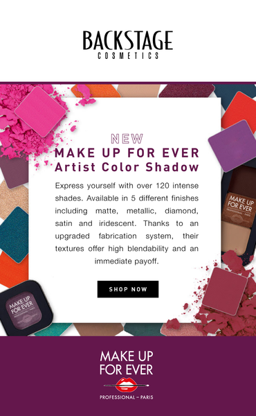 NEW! MAKE UP FOR EVER Artist Shadow!