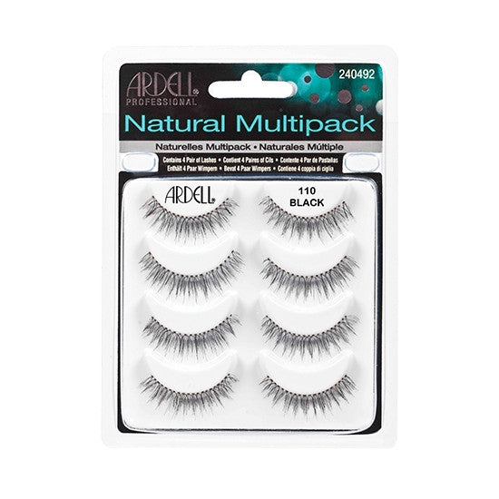Natural Lashes - 110 Multipack Ardell - Backstage Cosmetics Canada