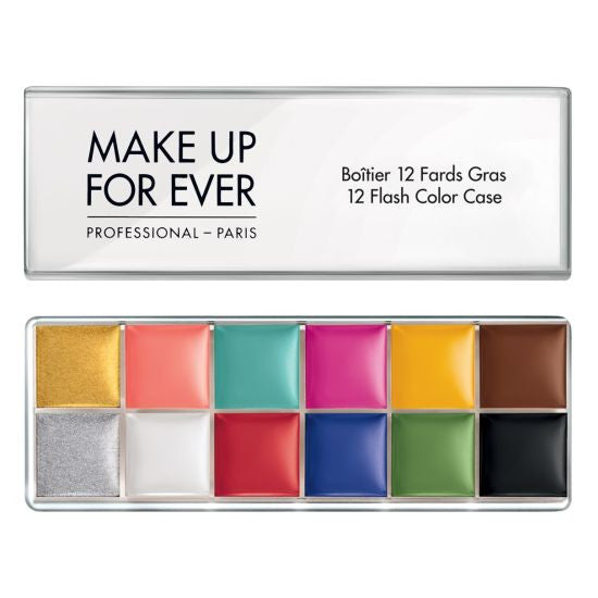 12 Flash Color Case MAKE UP FOR EVER - Backstage Cosmetics Canada