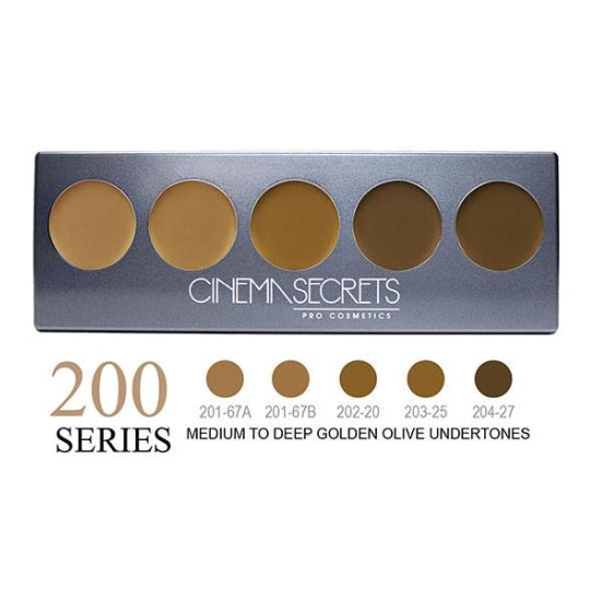 Ultimate Foundation 5-IN-1 PRO Palette - 200 Series™ Cinema Secrets - Backstage Cosmetics Canada