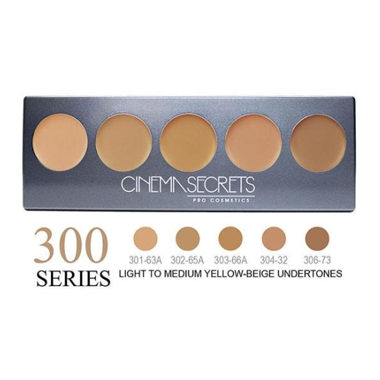 Ultimate Foundation 5-IN-1 PRO Palette - 300 Series™ Cinema Secrets - Backstage Cosmetics Canada