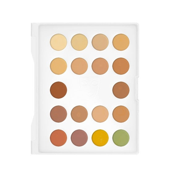 Dermacolor Camouflage Creme Mini-Palette 18 Colors Kryolan - Backstage Cosmetics Canada