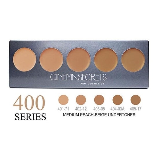 Ultimate Foundation 5-IN-1 PRO Palette - 400 Series™ Cinema Secrets - Backstage Cosmetics Canada