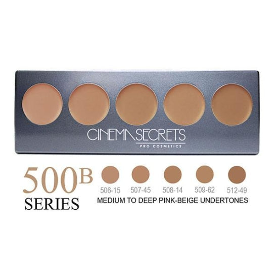 Ultimate Foundation 5-IN-1 PRO Palette - 500B Series™ Cinema Secrets - Backstage Cosmetics Canada