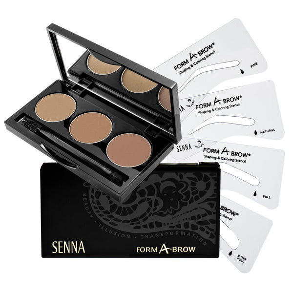 Form-A-Brow Kit Senna - Backstage Cosmetics Canada