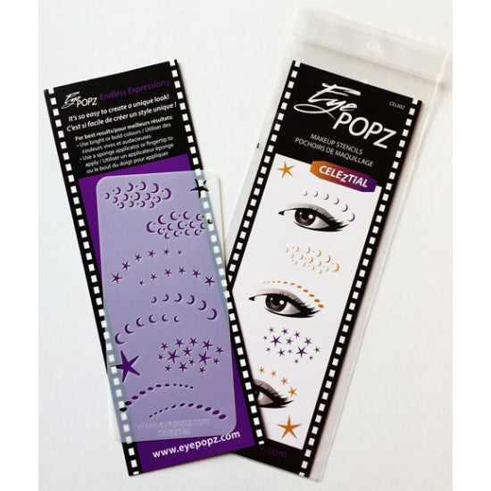 Regular Stencils EyePopz - Backstage Cosmetics Canada
