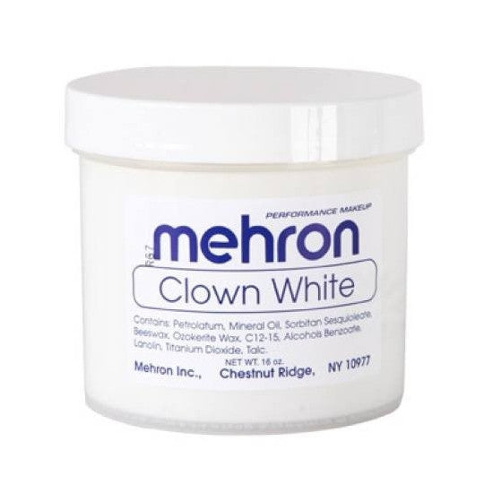 Clown White Mehron - Backstage Cosmetics Canada